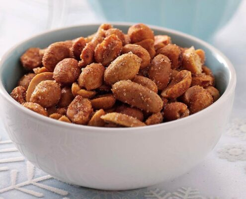 """NUTS ABOUT YOU"" SPICY PEANUTS"